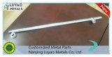 Material de acero mecanizado CNC de piezas con doblar y soldar