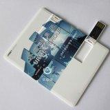 Stampa istantanea dell'azionamento 4GB 8GB della penna dell'azionamento dell'istantaneo del USB della carta di credito del USB 2.0 creativi di DIY 16GB 32GB il vostro marchio della Photo or Custom Company