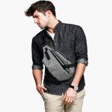 Оптовая торговля Custom для отдыхающих серый полиэстер мужчин, поясной ремень сумка