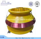 Hohe Mangan-Gussteil Metso HP800 Kegel-Zerkleinerungsmaschine-Teile