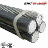Conducteur en aluminium couverts les frais généraux de ligne de câble métallique