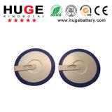 Tasten-Zellen-Batterie Lir3032 des Lithium-3.6V nachladbare