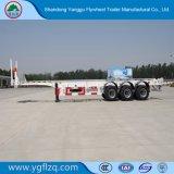 de Oplegger van het Skelet van de Container 2axle/3axle/4axle 40FT/20FT met Landingsgestel Jost