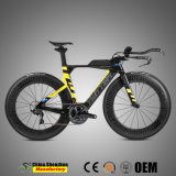 Vélo d'emballage de route d'Ut TTT de carbone d'Élevé-Module avec la roue de carbone