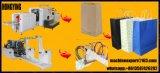 4 Flexo Impression couleur de la machine en ligne bas sac de papier carrés Making Machine
