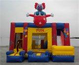 Het opblaasbare Huis van de Sprong van de Clown (B3042)