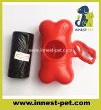 Precios baratos de residuos de PET de la bolsa de caca de perro, dispensador de hueso de soporte de producto
