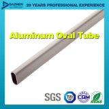 Profil en aluminium de tube rond ovale de garde-robe avec la couleur/dimension différentes