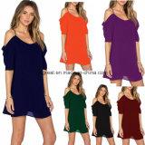 Красочные последней богемный стиль женские спагетти ремешок платья