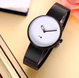 Ashion 창조적인 다이얼 매우 얇은 숙녀 석영 손목 시계