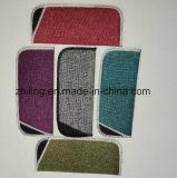 Material del lino con lazo de la bolsa de los vidrios ópticos