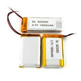 3.7V 1800mAh Li-Polymeer Batterij voor Digitale Producten