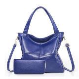 Bolsas das senhoras no saco de mão ajustado de couro macio do saco de ombro do Tote do plutônio do baixo preço e bolsas para as mulheres Sy8561