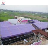 Алюминиевые рамы крыши опорных для системы