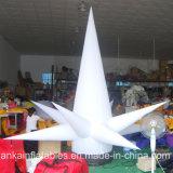 Acendimento do LED insufláveis personalizados Coluna Pilar decorativos insufláveis