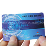 Cr80 carte de PVC d'IDENTIFICATION RF du plastique LF 125kHz Em4305 Tk4100