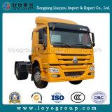 De Vrachtwagen van de Tractor 371HP van Sinotruk HOWO 4X2 voor Semi Aanhangwagen