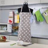 [فكتوري بريس] أسود زرقاء مطبخ مئزر إمرأة ورجل يطبخ مطعم