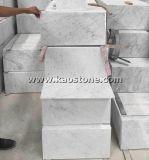 Естественно/отполировал мрамор Италии Bianco Cararra белый для пола/стены
