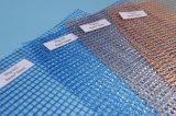 Maille concrète de fibre, couleur renforcée d'orange de maille de fibre de verre