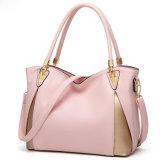 A cor de contraste Mala a tiracolo Lazer Crossbody Bag Lady Sling Bag