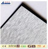 Hoja plástica de aluminio material del panel ACP de Contruction del edificio