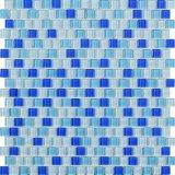 Мозаика стекла плавательного бассеина 15*15