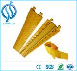 Protetor flexível de borracha rolado do cabo
