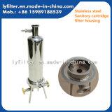 Cubiertas de los cartuchos de filtro de Sanitory del acero inoxidable 10 '' para la filtración estéril farmacéutica del agua