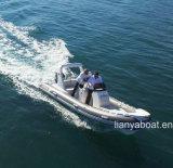 Barca militare di Rhib delle barche gonfiabili rigide del guscio di Liya 5.2m