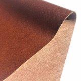 0,5Mm-0.7mm PU calçado de couro Calçado de tecido de forro de material