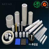 Tubi porosi di ceramica di affidabilità & di qualità, tubi protettivi di ceramica, tubi quadrati di ceramica, allumina Rohi solidi di ceramica