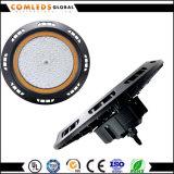 IP65 alta luz al aire libre de la bahía del UFO 140lm/W 347V 150W LED con ETL Dlc enumerado