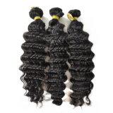 il tessuto profondo brasiliano dei capelli dell'onda 100g impacchetta i capelli umani dei capelli 100% di Non-Remy