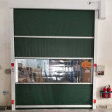 Porta de Rolagem automática industrial PVC Eléctrico da Porta de Alta Velocidade da Porta de giro de Controle Remoto
