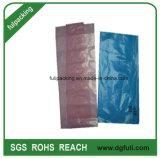 LDPE 빨간색 정전기 방지 비닐 봉투는을%s 가진 표에 의하여 인쇄된 Polybag에 의하여 주문을 받아서 만들어진 환영을 재생한다