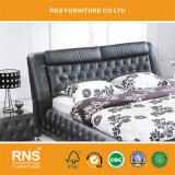 A853 유행 현대 가죽 디자인 침대