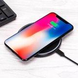 На заводе оптовой 2018 ци зарядное устройство беспроводной связи, 7,5 Вт для быстрой зарядки iPhone8/X 10Вт для Samsung