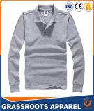 T-shirt do polo das camisas de algodão da impressão para homens