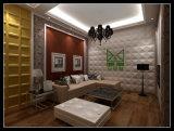 Barata y fina decoración mural interior para pintar el panel de pared PVC