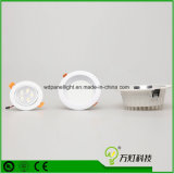 Aluminun Dimmable vertiefte Handels-LED Decke unten Downlight