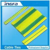 O cabo elétrico articula as luvas de Shrink de calor duplas da parede para a barra