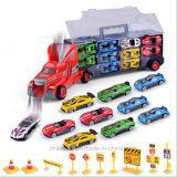 多くのの容器のトラック小型車のおもちゃ