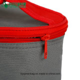Напольный изолированный мешок охладителя обеда Tote застежки -молнии перемещения круглый