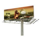 Piscina três lados Unipole Auto-estrada de Publicidade em outdoor das estruturas de aço