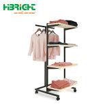 T stand stand Hangrail Vêtements Vêtements Rack d'affichage