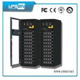 Intelligente doppelte Konvertierung IGBT DSP modulare UPS-unterbrechungsfreie Stromversorgung für Servers. Daten-System