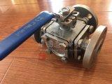 Шариковый клапан дороги фланца 3 литой стали Ce/ISO