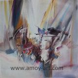 Handgemachte Ölgemälde-abstrakte Landschaftssegeltuch-Wand-Kunst