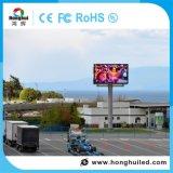 P16 che fa pubblicità alla visualizzazione di LED esterna di rotazione